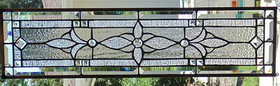 Stained Glass window hanging 29 X 7 1/2""