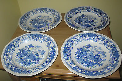 Wood & Son 'seaforth'  Bowls X 4! 1891 - 1907