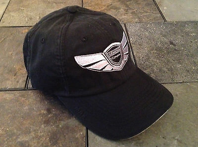 Genesis Coupe Wing Logo Adjustable Hat Cap