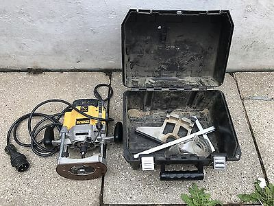 Dewalt Dw625e-lx Plunge Router 110v Volt Variable Speed Worktop Router