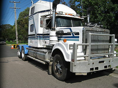 1989 WESTERN STAR  Has been passed and is ready to be registered