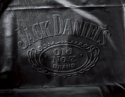 Jack Daniels 7', 8', 9' Leatherette Pool Table Cover - Black Embossed Logo