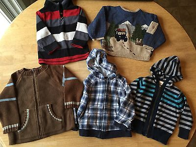 Baby Boy Sweater/Hoodie Lot (18-24 months)