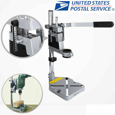 Universal Bench Clamp Drill Holder Press Stand Workbench Repair Tool  Drilling