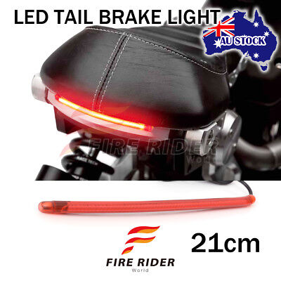 """For Triumph Motorcycles 8"""" 60pcs LED Red Strips Rear Brake Tail Red Light"""