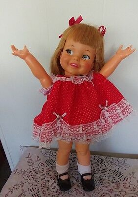 Ideal Vintage Giggles Doll 1960,s 17 Inch