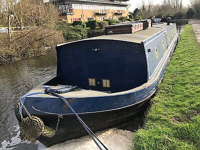 2007 55x10 Widebeam Narrowboat very comfy liveaboard need bit of finishing touch