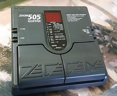 Zoom 505 Electric Guitar Multi Effects Pedal