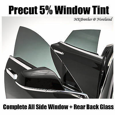 For 04-06 Nissan Altima 5% Limo PreCut Complete All Side & Rear Window Tint Film