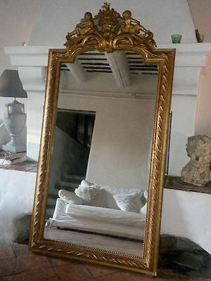 ~ Exceptional French Mirror ~ Original