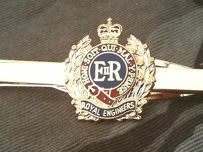 Royal Corps of Engineers Tie Clip Military Tie Slide