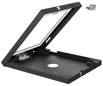 Anti-Theft Lockable Wall Desk Exhibition Mount Pad iPad 2 3 4 Air 1 2 Tablet New