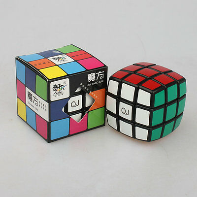 Qiji 3X3X3 cubo ABS Ultra-suave profesional cubo de velocidad Rubik Puzzle Twist