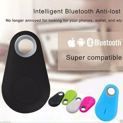 Bluetooth Tracker Child Bag Wallet Key Pet Smart Finder GPS Locator Alarm Device