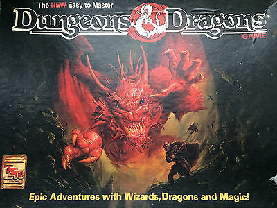 DUNGEONS AND DRAGONS original boardgame vintage strategy fantasy game