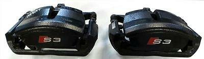 2012-16 Audi A3 S3 Quattro FRONT BRAKE CALIPERS KIT Upgrade & Warranty - KIT4071