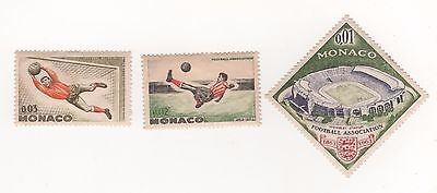 1963 MONACO FOOTBALL SOCCER - Cent of (English) Football Association -  MINT