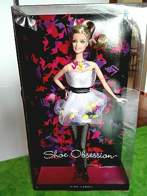 BARBIE SHOE OBSESSION NRFB - NUOVA - model muse doll collection da collezione