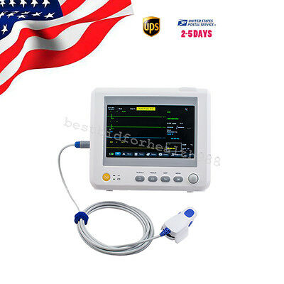 Patient Monitor Medical Monitoring 6-Parameter 7 Inch 320*240*215cm (ETCO2 Opt.)