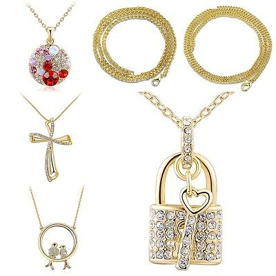 Women Men Exquisite Personality Gold Chain Necklace Pretty Jewelry Accessories