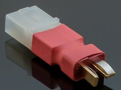 New No Wires Connector - Tamiya Female to Deans Style T-Plug Adapter Connector