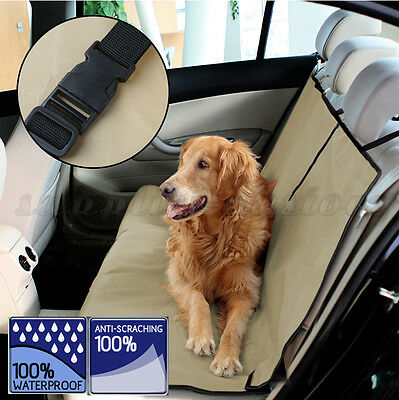 Waterproof Pet Dog Rear Back Seat Auto Car Blanket Cover Protector For Car UK