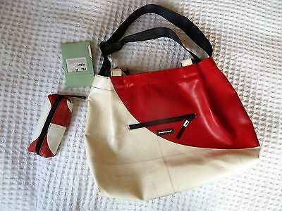 Freitag F62 Peggy - White/red