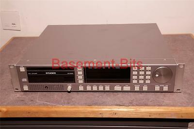 Studer D731 professional cd player with monitor DAC AES Analogue output