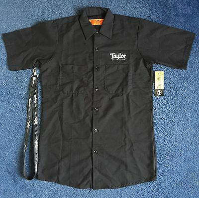 Taylor Guitars Work Shirt & Lanyard