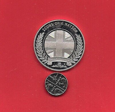 Icons Of A Nation Gold Spot Proof Coin Medallion The London Underground 1863