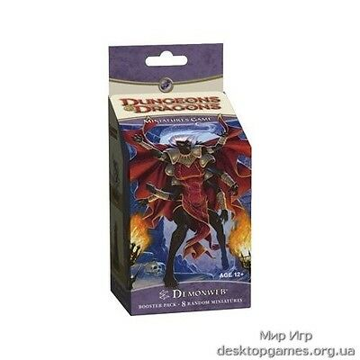 Dungeons & Dragons Miniatures Demonweb Booster Pack