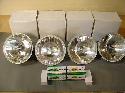 New Rover P6 Halogen Light Set Rhd With Bulbs