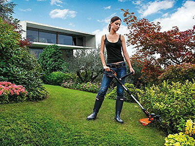 WORX WG169E 20V Cordless Lithium-Ion Grass Trimmer With Powershare Battery