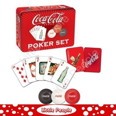 New Genuine Coca Cola Poker Set