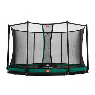 BERG InGround Champion Trampoline 380 (12.5ft) + Safety Net Comfort