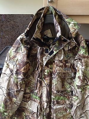 Trakker Jackal Realtree Camouflage Camo Waterproof Jacket Coat Mens M Medium