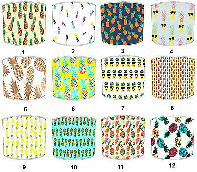 Children`s Lampshades Ideal To Match Funky Pineapple Quilts & Bedspreads.