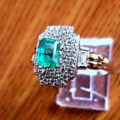 .83CT NATURAL COLOMBIAN EMERALD LOOSE STONE gemstone