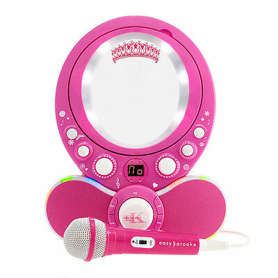 Easy Karaoke EKG8011 Princess CDG Karaoke Machine  - Pink RRP £69.99