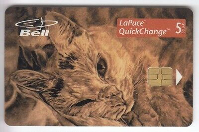 Amerique  Telecarte / Phonecard .. Canada 5$ Bell Chat Chouette 01/98 Chip/puce