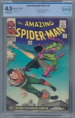 Amazing Spider-Man #39 : Cbcs 4.5- Off White To White Pages :