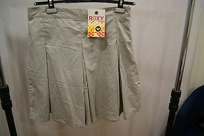 Roxy Life Skirt Grey L Skirt Woman New Summer Skate