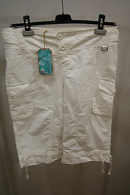 Animal Hipster Long Short White 8 12 Bermuda Women New Summer Skate