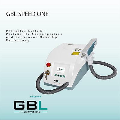 Gbl Speed One Qswitched Nd Yag Tattoo Laser 1000Mj Tattoo Entfernung