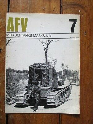 MEDIUM TANKS Mks A-D . AFV PROFILE PUBLICATION No 7