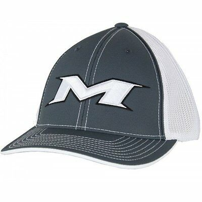 MMiken Trucker Mesh Hat (Charcoal/White) MTRUCK-7WD sm/md (6 7/8- 7 3/8)
