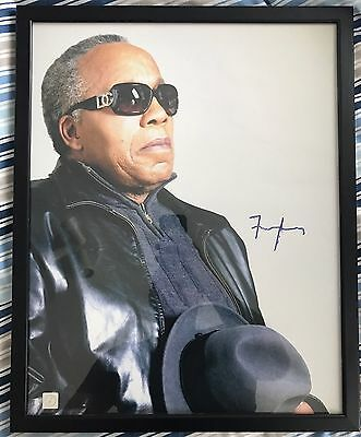 Frank Lucas Signed Framed Picture, Coa And Photo Proof, American Gangster