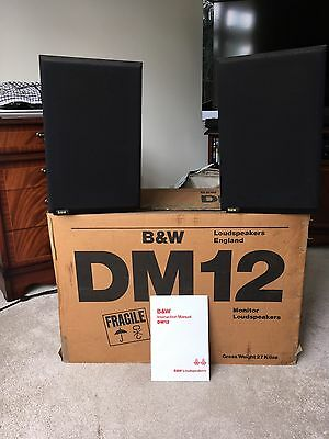Bowers & Wilkins (B&W) DM12 Speakers