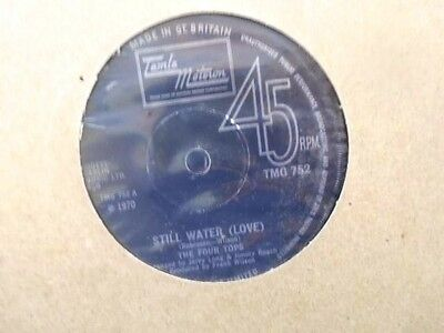 "The Four Tops "" Still Water "" Uk Tamla Motown Vg+ Cond."