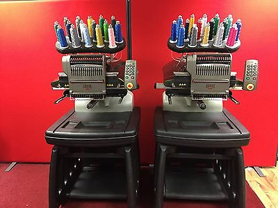 Embroidery Machines  2 YES TWO Industrial Embroidery Machines